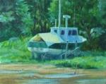 Cradled Boat